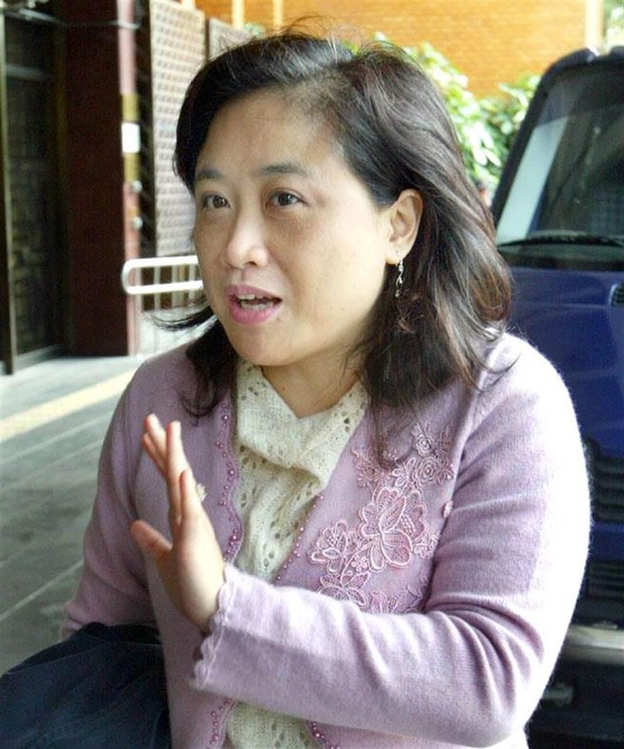 名嘴陳敏鳳確定辭掉院發言人機要的工作。(資料照片 范揚光攝)
