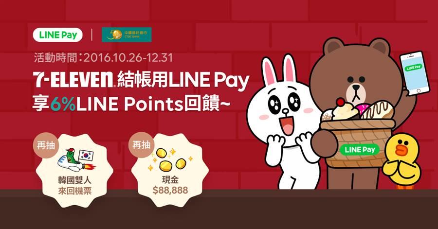 LINE Pay現已進駐7-ELEVEN,加上15年10月已搶進全家便利商店,目前已經可在全台七千家以上24小時便利商店中使用。(圖/翻攝LINE Blog)
