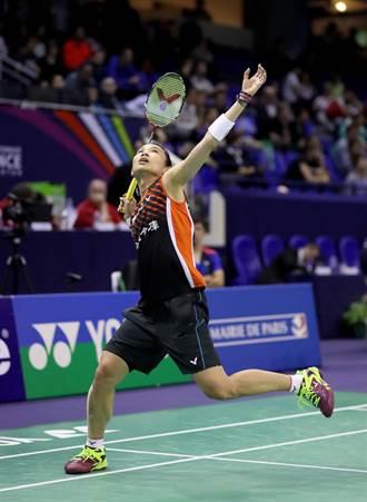戴資穎打滿3局勝出  法國羽賽闖8強