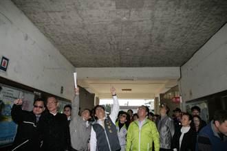 維護師生上課安全 中市府將整建危險校舍