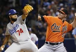 MLB》大聯盟最佳救援 國聯道奇簡森、美聯金鶯布瑞騰