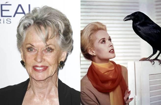 女星蒂比海德倫因演出希區考克經典《鳥》走紅全球。(圖/達志影像)