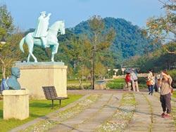 128蔣公銅像 見證慈湖興衰