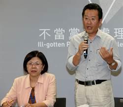 中投及欣裕台 被認定為國民黨附隨組織