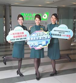 長榮航空線上旅展讓魏如萱夢想追隨音樂祭 環遊世界大玩一票!