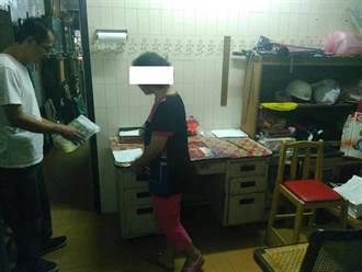 菜籃族簽賭站藏身鎖匙店 女組頭遭逮