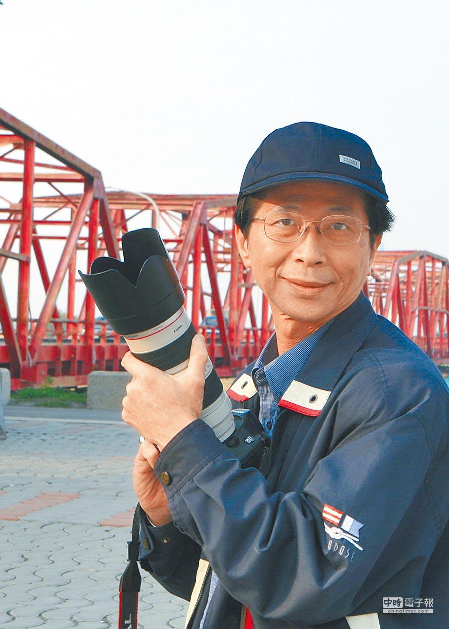 旺旺孝親獎攝影組旺旺獎得主張正和。(張正和提供)