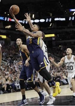 NBA》爵士祭出鐵桶陣 馬刺開季4連勝止步