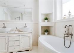 空間太小?7招實用小心機幫你把浴室變大了