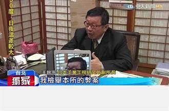 台大校長楊泮池挨告 直擊警局做筆錄