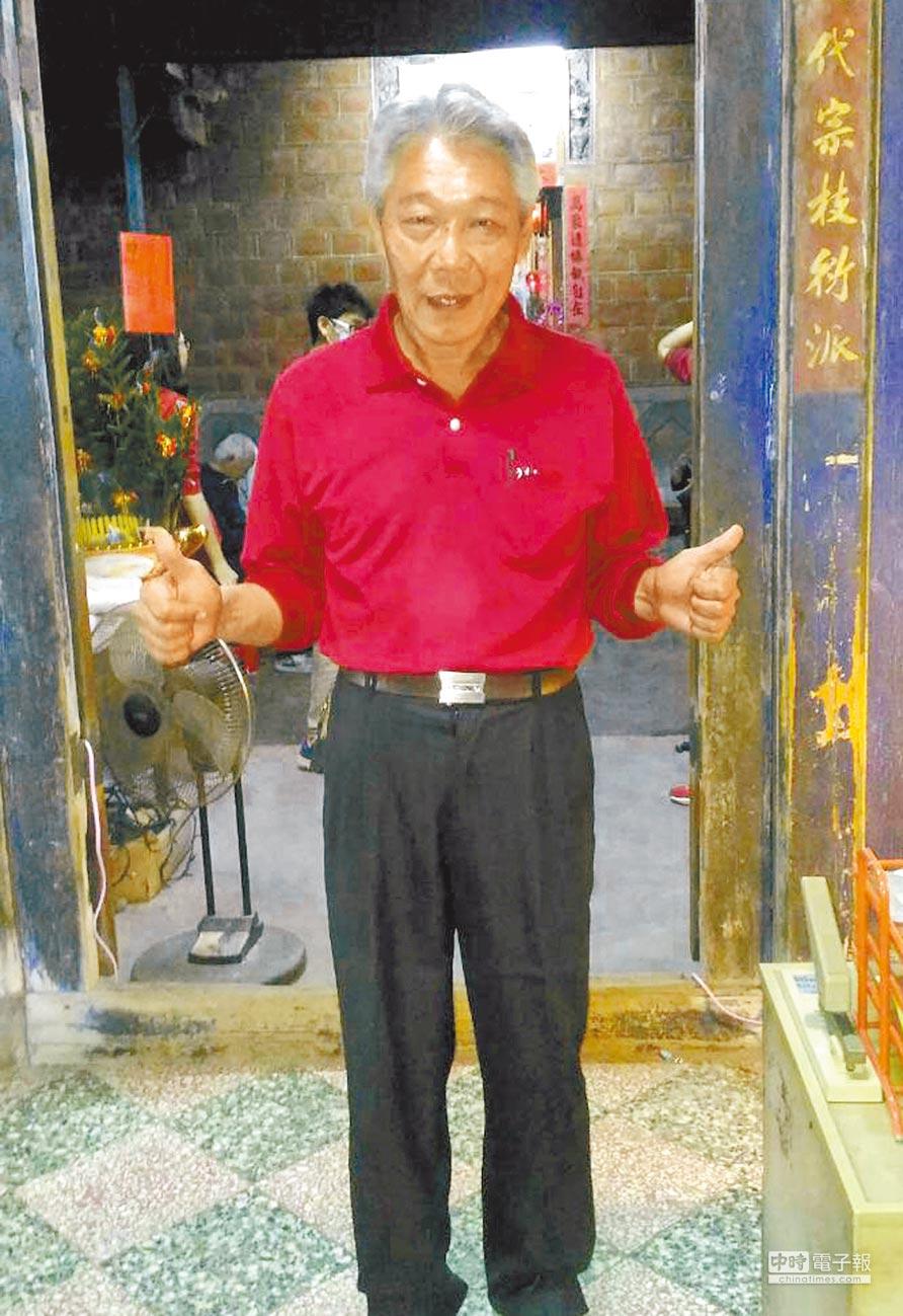 鹽埔鄉長葉明博被判當選無效,他強調將上訴證明自己清白。(林和生翻攝)