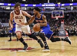 NBA》羅斯重返芝加哥 雙10領軍尼克退公牛