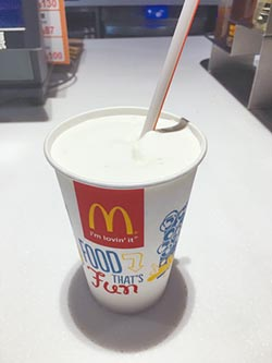 麥當勞奶昔 9日起全面停售