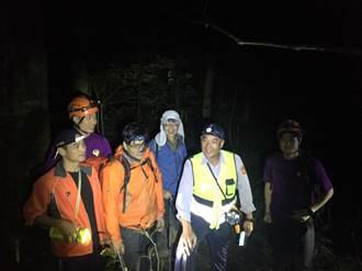 2登山客迷路  獲救時後面是懸崖