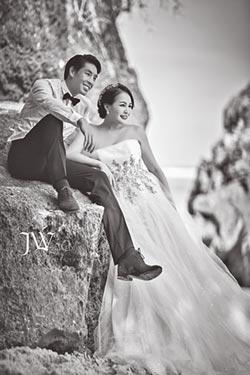 藍鈞天密謀成功 海島婚紗獻妻