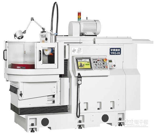 友龍機械這次將展出的「YRG-06 CNC精密迴轉式平面磨床」。圖/業者提供