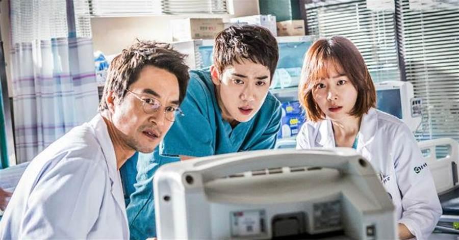 《浪漫醫生金師傅》由韓石圭、柳演錫與徐玄振共同主演(圖/KKTV 提供)