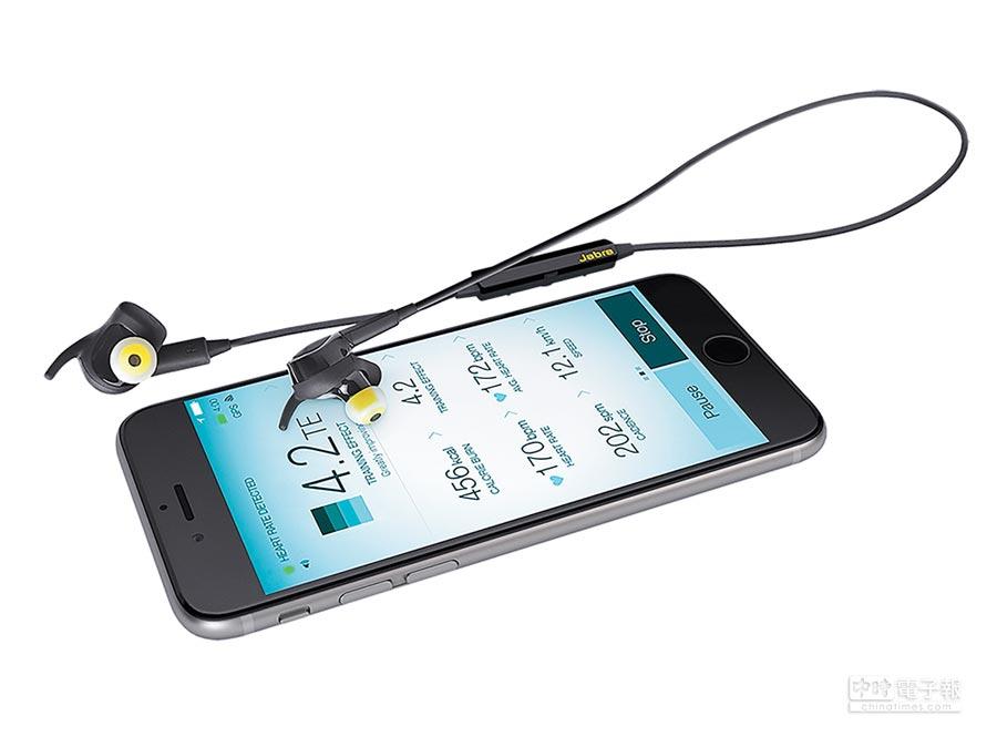Jabra Sport Pulse具備IP55防水、防塵標準,三年期延長防汗保固確保在各種強度的訓練中,耳機皆可運作如常。
