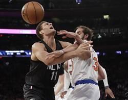 NBA》豪哥無緣棒打老東家 籃網遭尼克逆襲