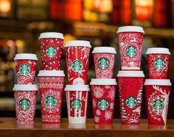全球同步推出!星巴克「耶誕紅杯」全新改款,10款限定花色美翻啦