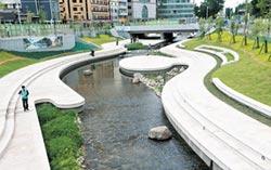 台中首座LID河岸 柳川親水防洪年底開放