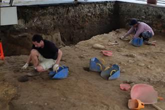 基隆和平島西班牙教堂考古遺址 4具遺骨出土