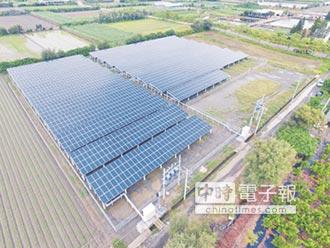 雲林最大太陽能電廠啟動
