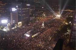 首爾明百萬人反朴槿惠示威 青瓦台憂心