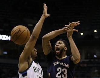 NBA》不想再輸了 一眉哥領鵜鶘宰鹿開胡