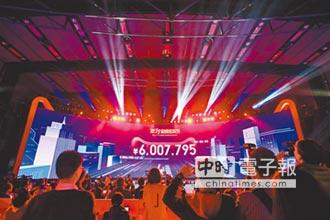 雙11銷售額 飆破1207億人民幣