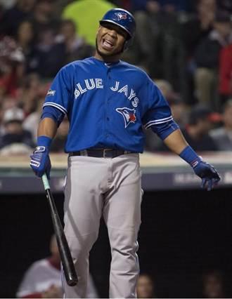 MLB》強打英卡納西昂 恐告別待8年藍鳥
