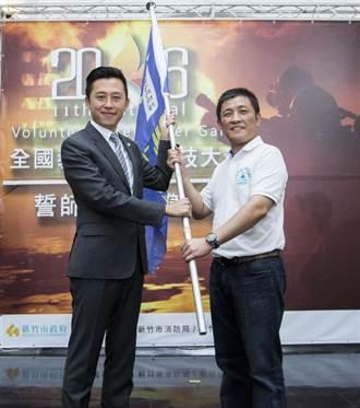 竹市義消總隊長鄭宏輝 獲選義勇消防聯和總會副總會長