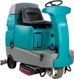 傑融引進 Tennant駕駛式洗地機