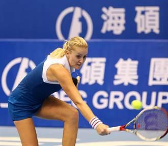 台北海碩》法網女雙冠軍 忍痛退賽不來了