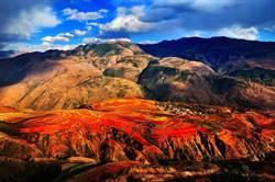 美到屏息!紅河哈尼梯田 濃艷色塊鋪天蓋地