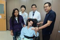逃逸外勞腦幹出血昏迷 媽祖醫院救人還助返鄉