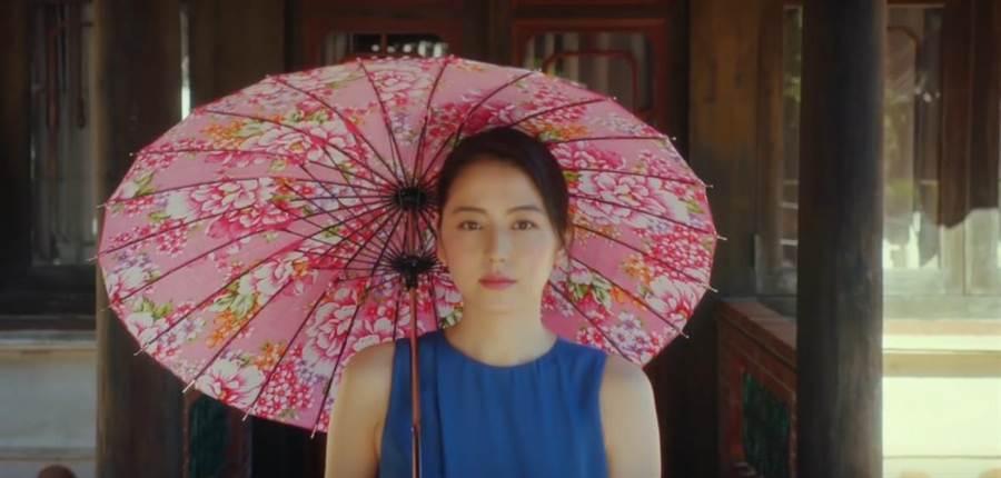 長澤雅美為台灣拍攝觀光宣傳片,每個景點拍攝起來都相當絕美。(取自觀光局影片)