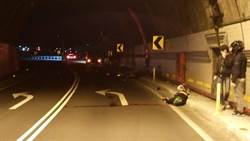 隧道過彎失控 重機騎士傷重不治