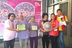 草屯華山天使站12周年 老阿嬤捐手作品展現感恩情