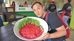 盧學叡吞5公斤巨無霸米粉湯