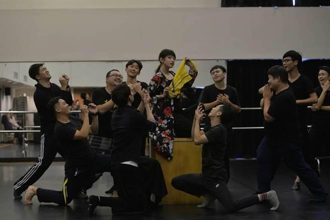 台灣原創音樂劇《木蘭少女》走進國際舞台!(顏謙隆攝)