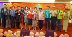 呂秀蓮參加慈善募款餐會 鼓勵女性積極參與政治