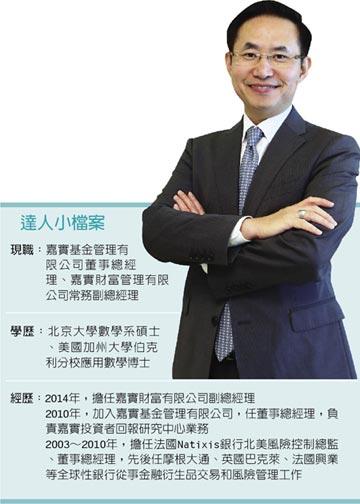 職場達人-嘉實基金公司董事總經理 黃一黎博士風範 客製化財管服務