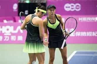 網球精靈張凱貞  海碩盃挑戰單雙打冠軍