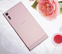 Sony Xperia XZ 山茶花粉色上市