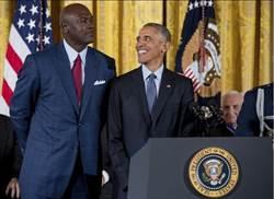 喬丹、賈霸 獲頒美國自由勳章