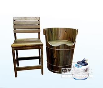 鴛鴦桶保健檜木桶 養生暖過冬