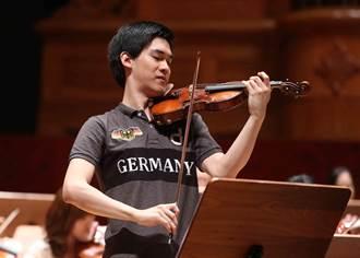 台首位入圍維尼奧夫斯基小提琴家 林品任舉行返台首場音樂會