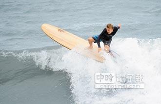 台灣國際衝浪賽 金樽與浪共舞