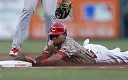 MLB》3秒6的男人 紅人隊腿神漢米頓